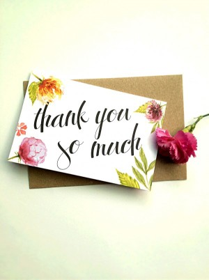 Thank you so much – Thiệp Papermix